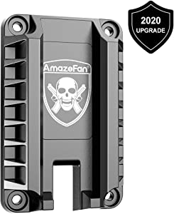 AmazeFan Magnetic Gun Mount & Holster for Vehicle, Home or Office, Handgun Magnet Firearm Accessories, Concealed Holder for Pistol in Truck, Car, Vehicle, Wall, Desk
