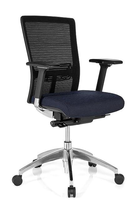 Hjh OFFICE 657512 Chaise De Bureau Fauteuil Haut Gamme ASTRA BASE Noir