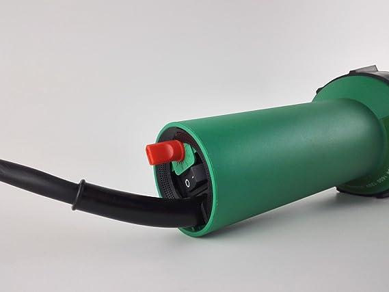 Pistola de soldadura profesional de aire caliente, de plástico, 1600 W