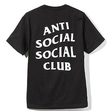 c3e2f851e788 Identity Anti Social Social Club t Shirt (Large) Black  Amazon.co.uk   Clothing