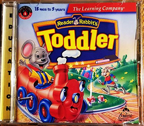 Reader Rabbit's Toddler 18 mos to 3 years (CD-ROM) -