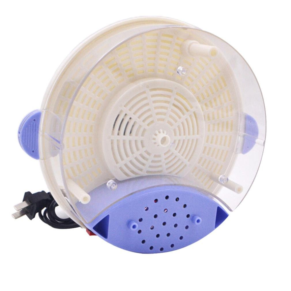 Hechun Electric Fly Insect Trap Indoor Bug Fly Device with Trapping Food Mosquito Killer Pest Control Pest Catcher (White) by Hechun (Image #4)