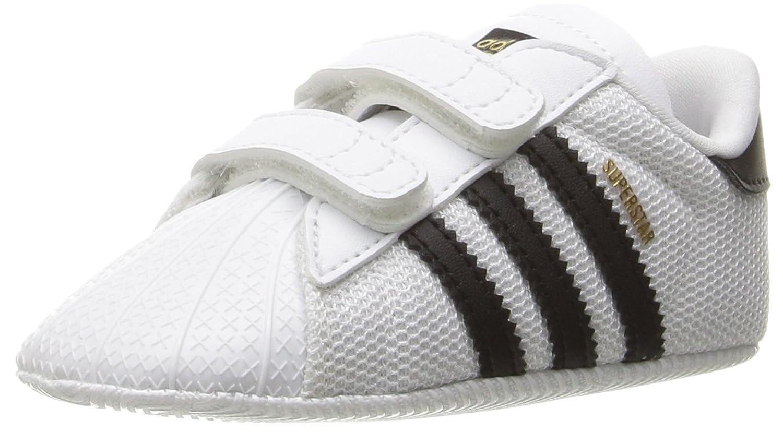 Adidas Superstar Zapatillas De Deporte De La Cuna Blanco Y Negro fd3il