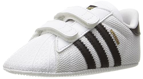 adidas Originals Baby Superstar Crib Running Shoe Black White 305f92ed2d8d