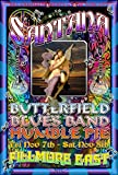 Santana, Butterfield, Humble Pie Blues Poster
