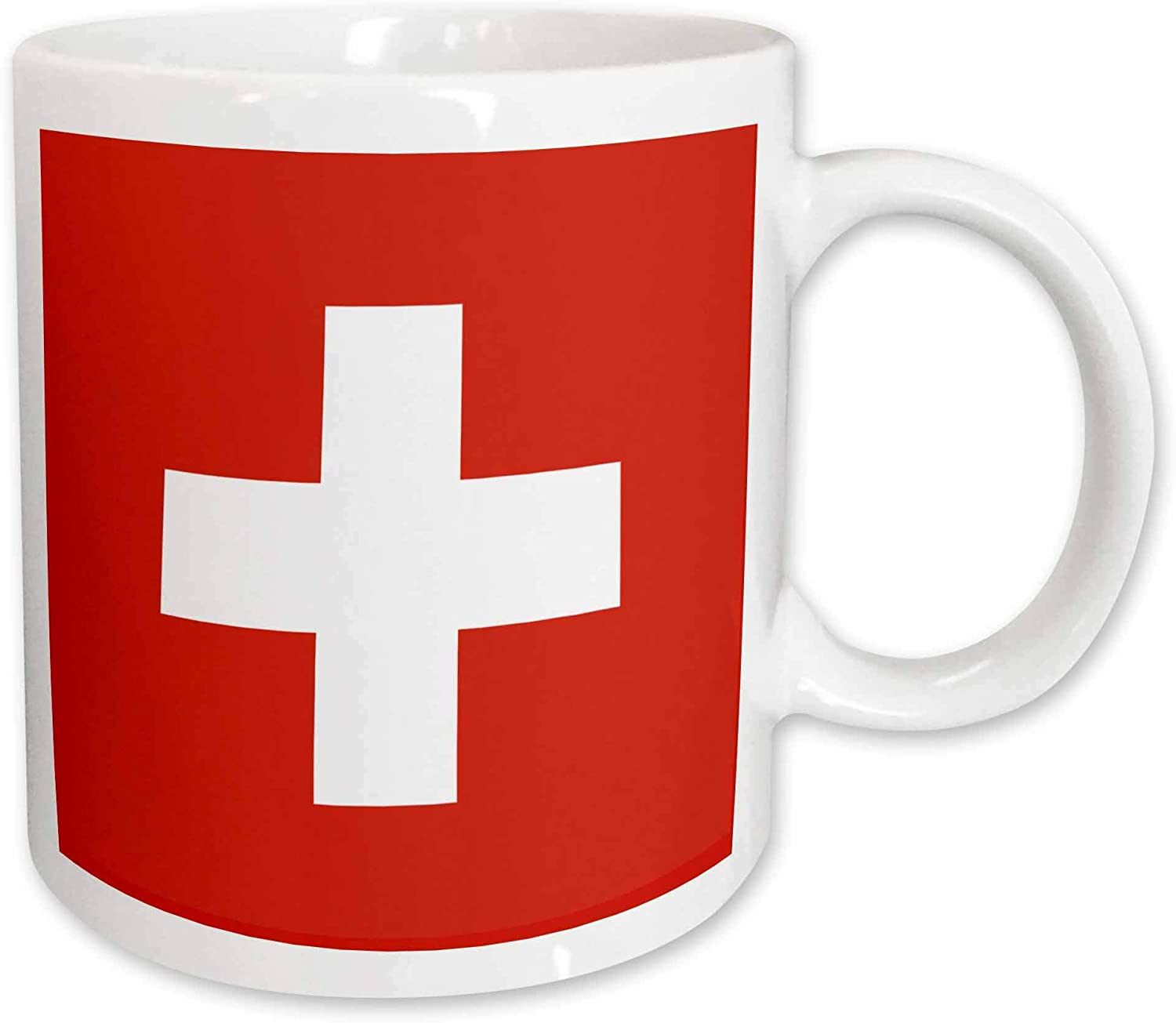 Amazon Com 3drose 3drose Flag Of Switzerland Swiss Red And