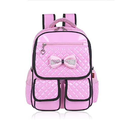 ba4f0ac25a Image Unavailable. Image not available for. Color  Kamabags Kids School  Backpack Bag for Primary Girls Students Book ...