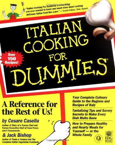 Italian Cooking For Dummies by Cesare Casella (1998-09-16)