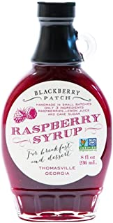 product image for BLACKBERRY PATCH Raspberry Syrup, 8 OZ