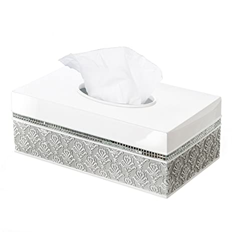 Awesome Creative Scents Mirror Damask Rectangle Tissue Box Cover, Decorative  Bathroom Tissues Paper Napkin Holder,