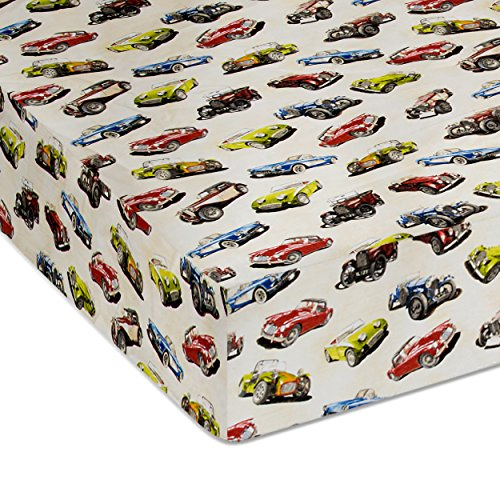 Glenna Jean Fast Track Fitted Sheet, Car from Glenna Jean