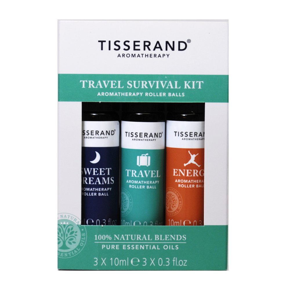 Travel Survival Kit , Contains 3x10ml Essential Oils Roll-Ons