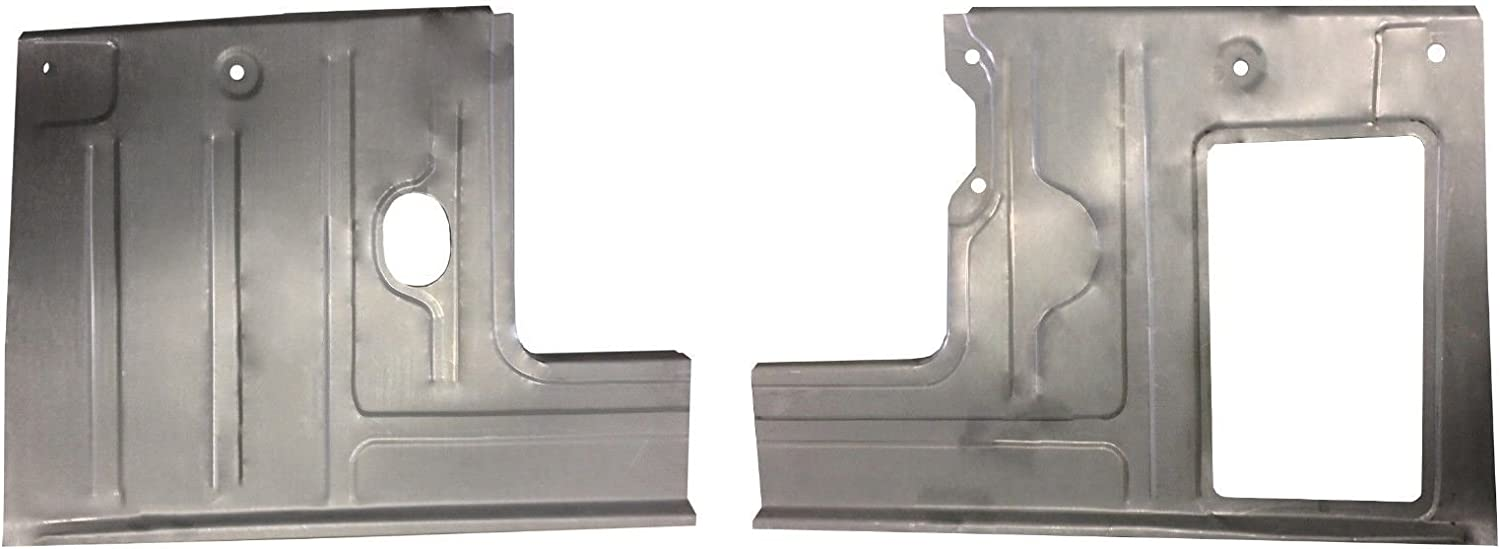 Works With 1956 FORD PICKUP TRUCK F-100 FRONT FLOOR PANS NEW PAIR! Motor City Sheet Metal