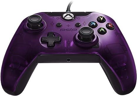 Pdp - Mando Con Cable Morado Licenciado (Xbox One): Amazon.es: Videojuegos