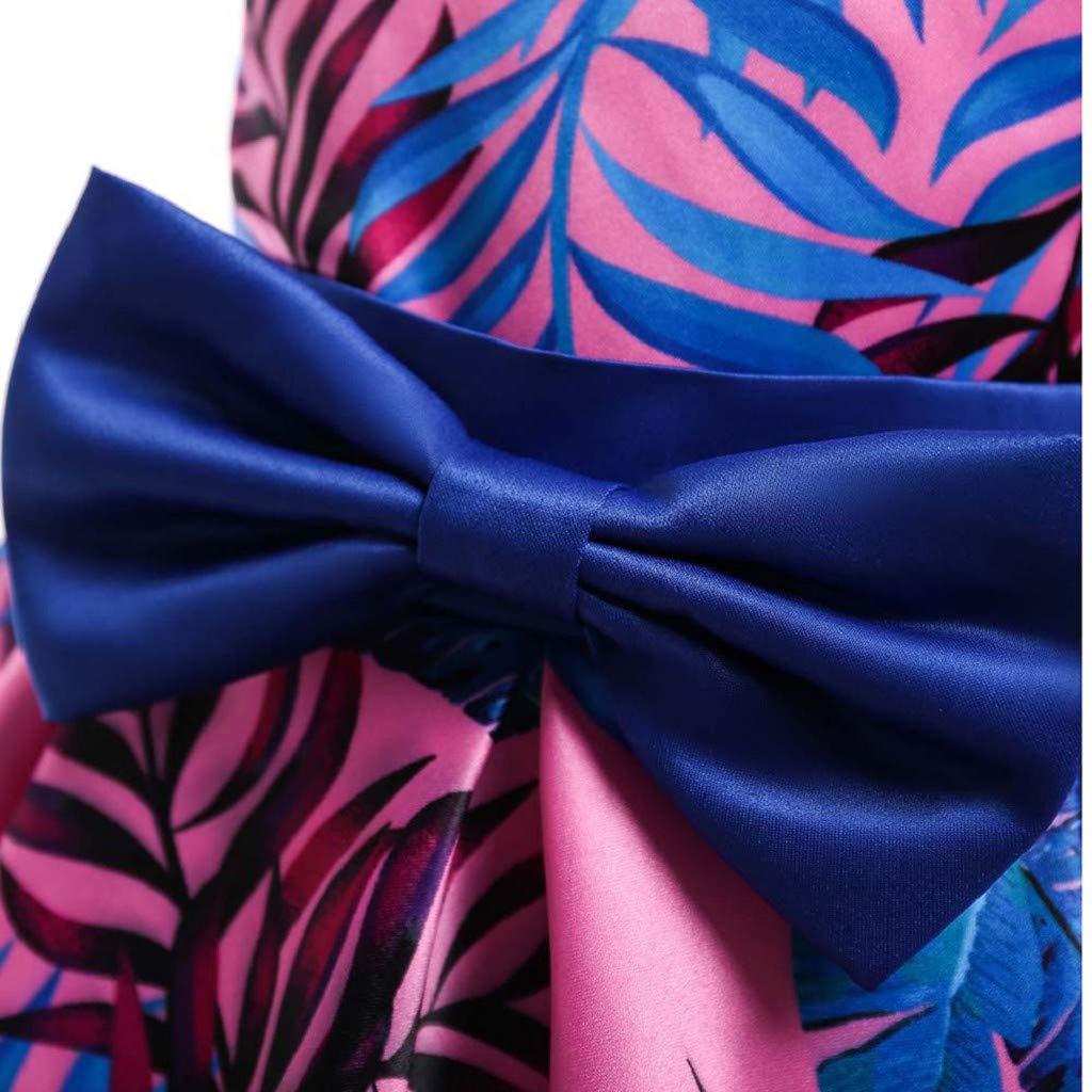 INNEROSE Principessa per Ragazza Elegante Vestito Bambini Feste Fantasia Belle Cosplay Gonna Festa Elegante Compleanno Sera Pageant Carnevale Abiti da Sposa