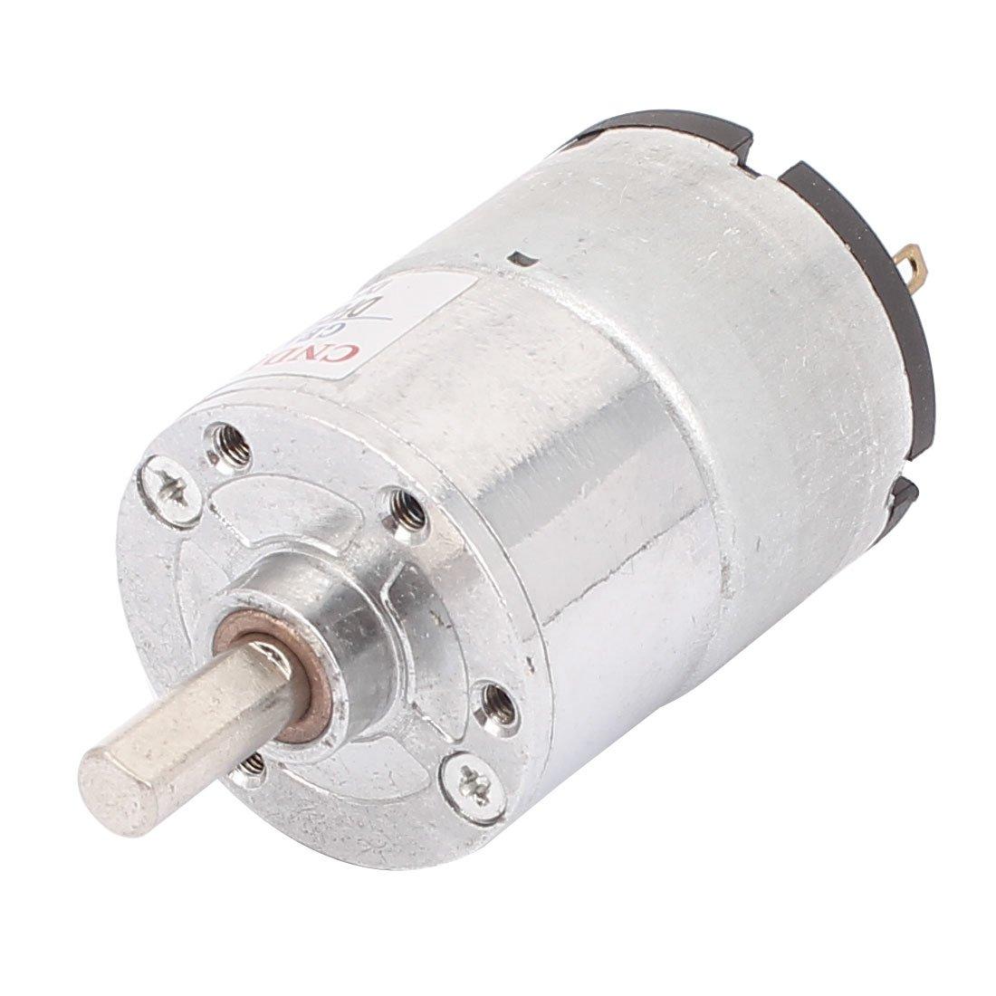 sourcingmap/® DC 12V 380-500RPM Elektrischer leistungsf/ähiger hoher Drehmoment Zahnrad Motor de