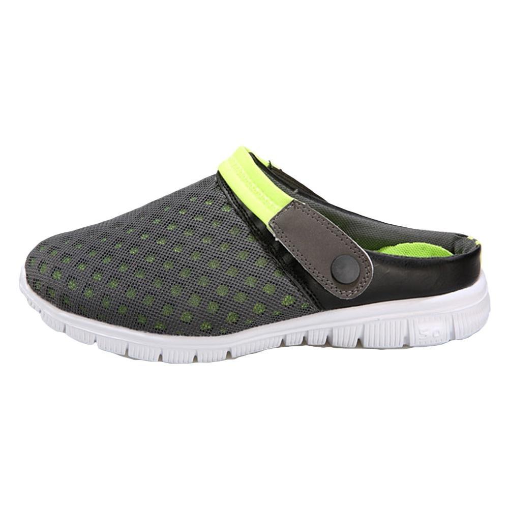 Sandalen Clogs Mules Mesh Schuhe  Halbe Pantoffeln  Paar Modelle  Casual Schuhe  Männer Loch Schuhe  Strand  41Sandalen Schuhe Pantoffeln Modelle Casual