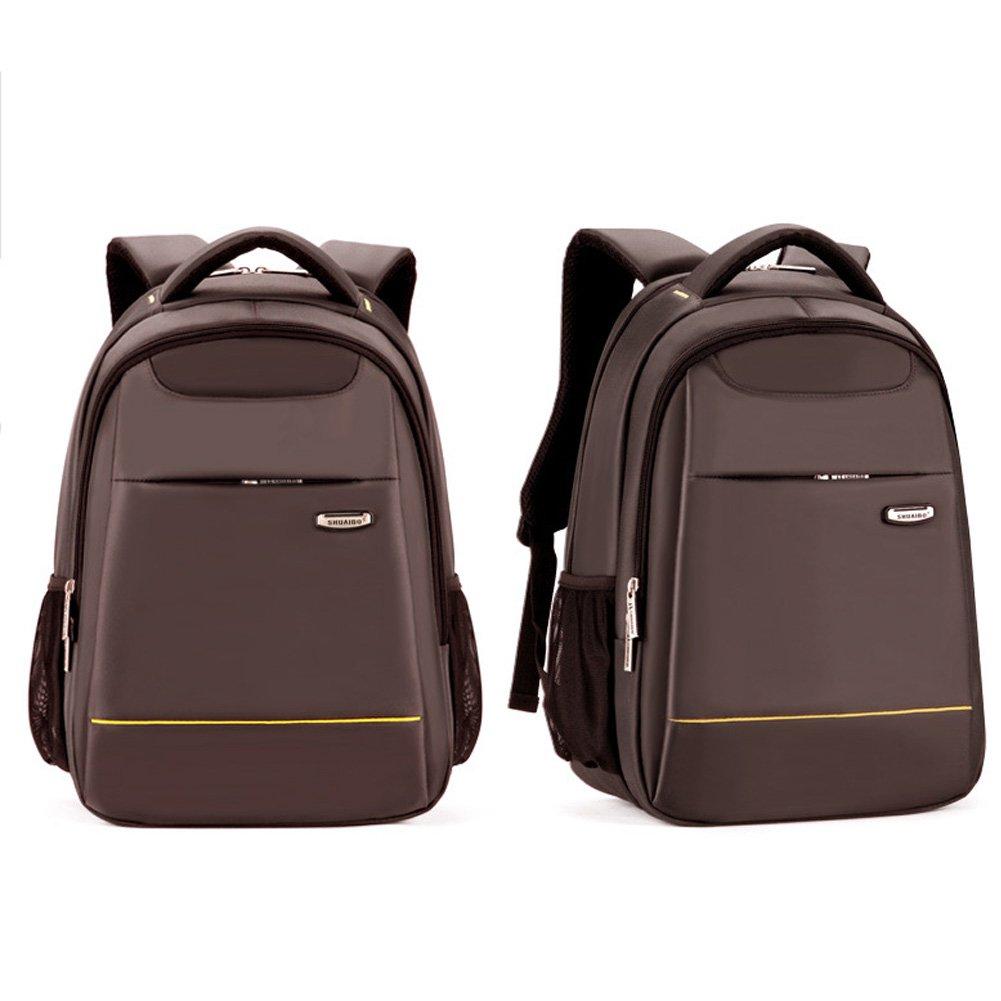 doxungo 18,5 Inchs ordenador portátil Mochilas, bolsa de deporte para hombre (correa para hombro, mochila, mochila de viaje de negocios, marrón marrón: ...