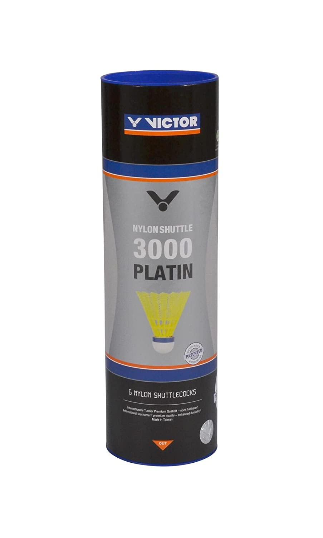 VICTOR Nylon-Federball /»Nylon Schuttle 3000 platin/«