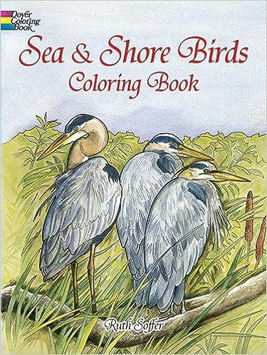 Kostenloser Download von E-Books Sea and Shore Birds Coloring Book (Dover Nature Coloring Book) 0486408051 PDF CHM