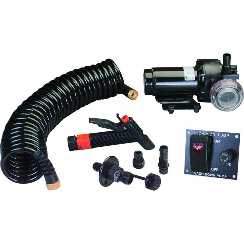 Johnson Pump Aqua Jet 5.2 GPM Wash Down Pump Kit by Johnson Pump