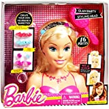 Barbie Glam Party Blonde Styling Head, 16 Pieces
