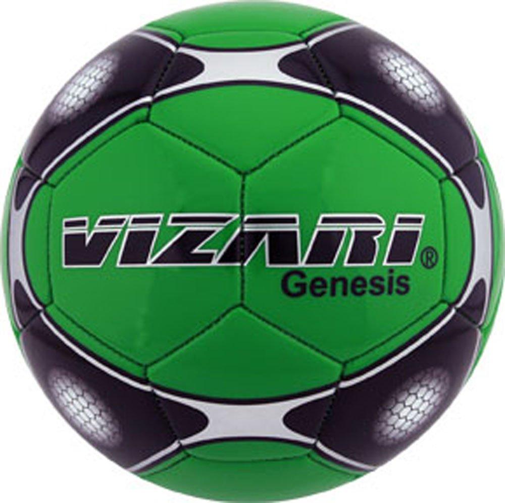 Vizari Genesisボール B00R92APZ2 Size 3|グリーン グリーン Size 3