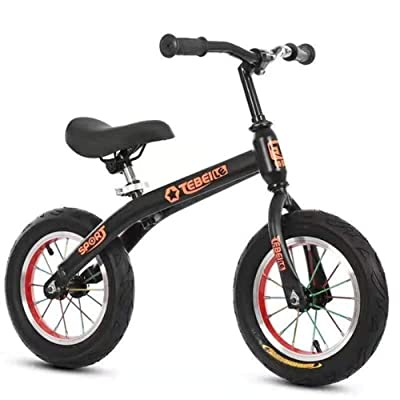 Balance Bike for Kids, Lightweight Toddler Balance Bike, Push Bike for Kids, Walking Bicycle for Boys (Color : Black) : Baby
