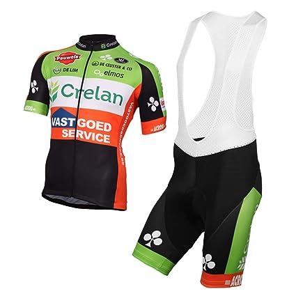 Wulibike Traje Ciclismo Hombre Ropa Ciclismo Corta Maillot ...