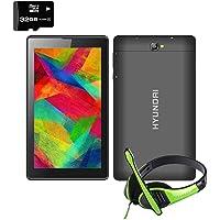 Hyundai Tablet Koral 7w3x 8gb Android 8 3g Negro + Audifonos + Memoria 32GB