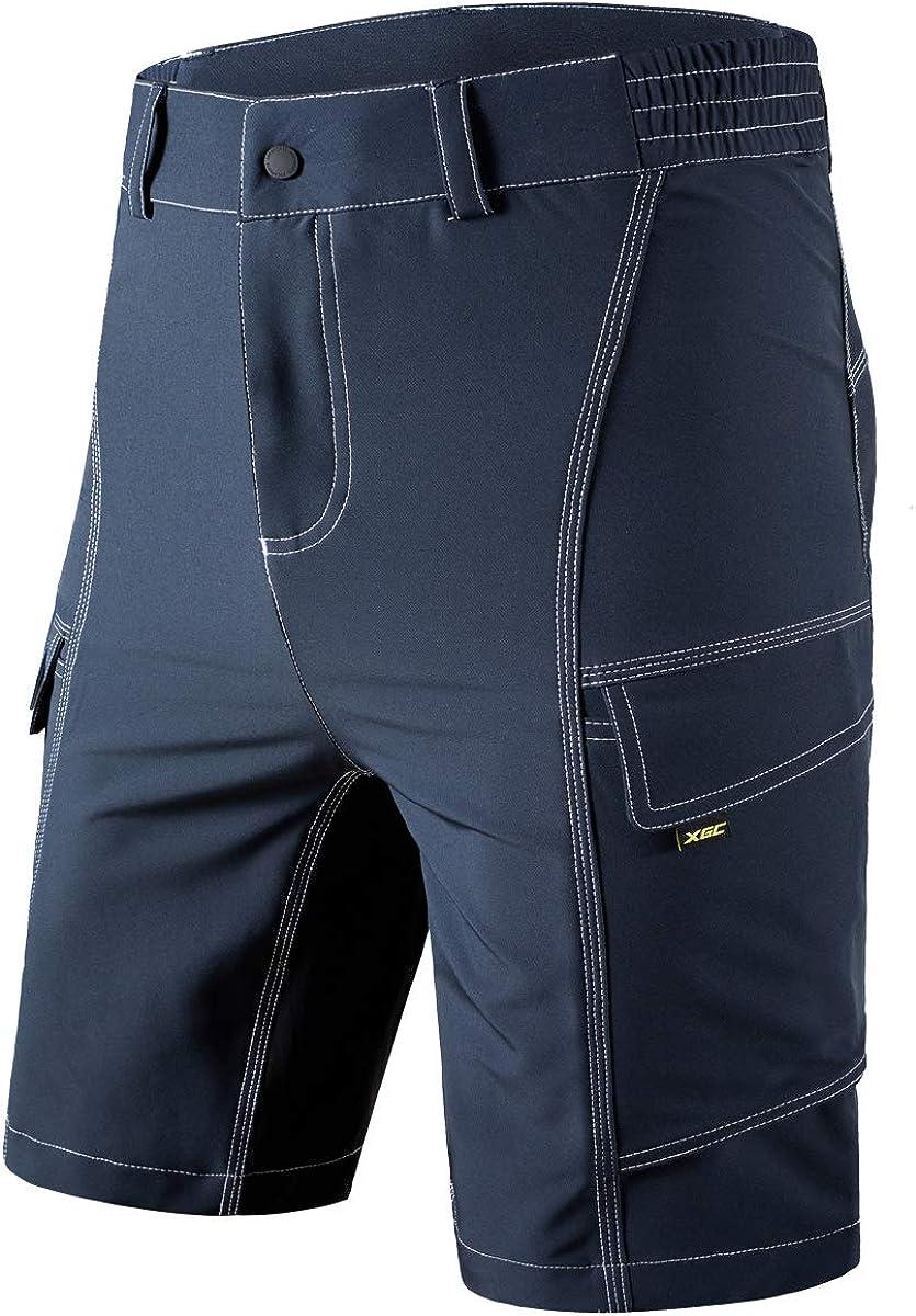 XGC - Pantalones cortos de ciclismo para hombre