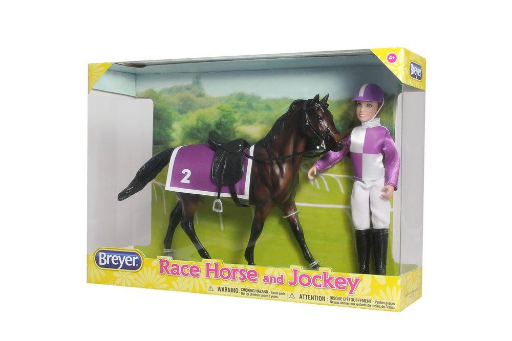 Amazon Breyer Race Horse And Jockey