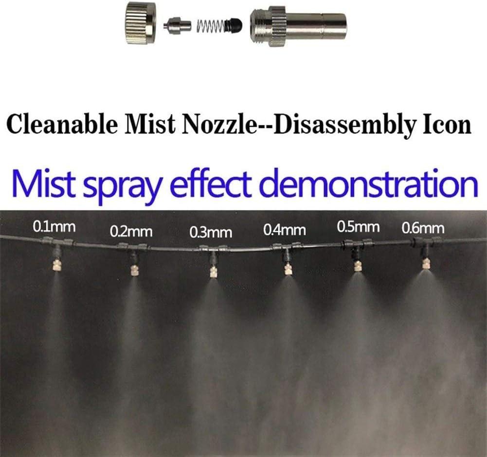 FWKTG Boquilla de Acero Inoxidable para Nebulización Atomización ...