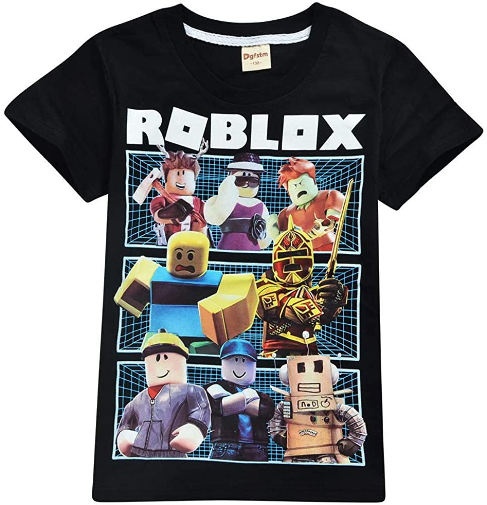 Male Roblox Outfits 2019 Thombase Boys T Shirts 3d Cartoon T Shirt Family Games Tops Tees For Boy Girl Amazon Ca Clothing Accessories
