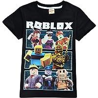 Camiseta Roblox de algodón transpirable para juegos en familia, juegos en equipo para niños y niñas, parte superior de…