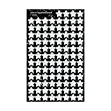 Trend Enterprises Silver Sparkle Stars Stickers, 400/Pkg (T-46404)