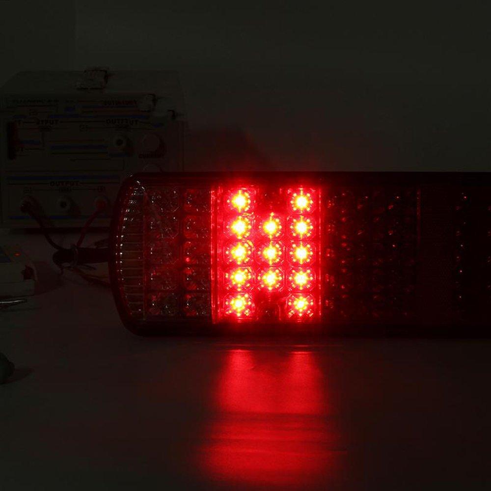 lot de 2 Hehemm 87/LED Feux arri/ère Lampes /à LED pour remorque Camion Truck restauration 24/V
