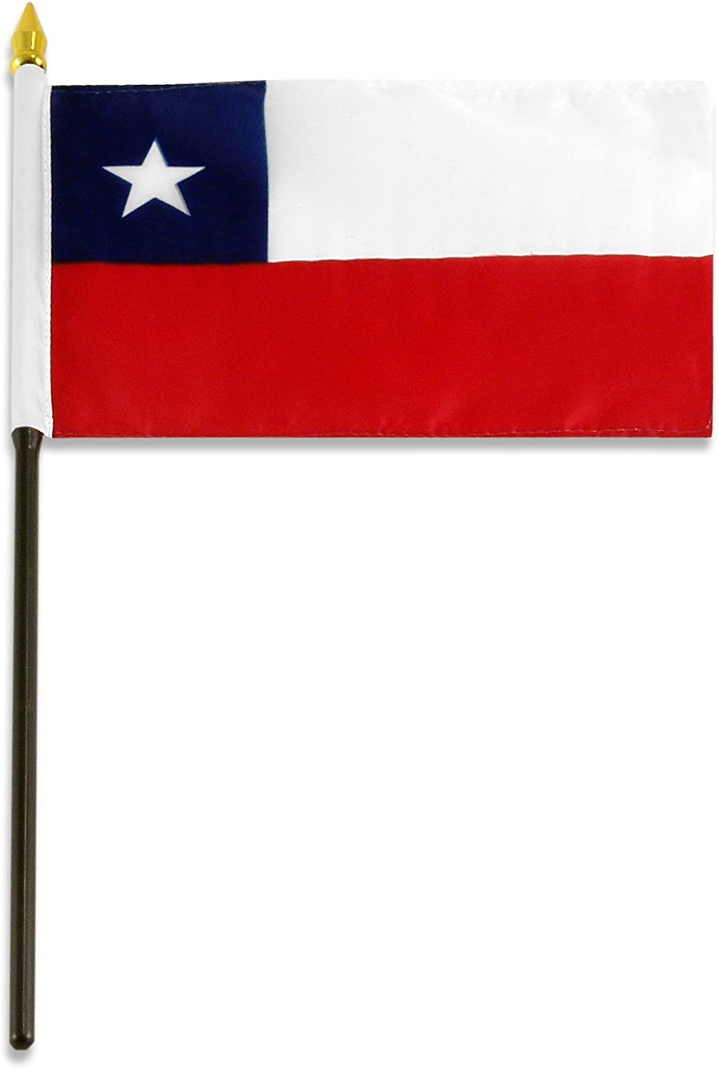 Amazon Com Us Flag Store Chile Flag 4 By 6 Inch Outdoor Flags Garden Outdoor