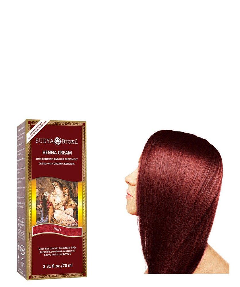 Surya Nature Henna Red Cream - 2.37 Ounce