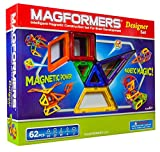 Magformers Magnetic Building Construction Set – 62 Piece Designer Set