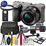 Sony a6000 Mirrorless Camera (Graphite) w/16-50mm Lens + 32GB + Essential Photo Bundle