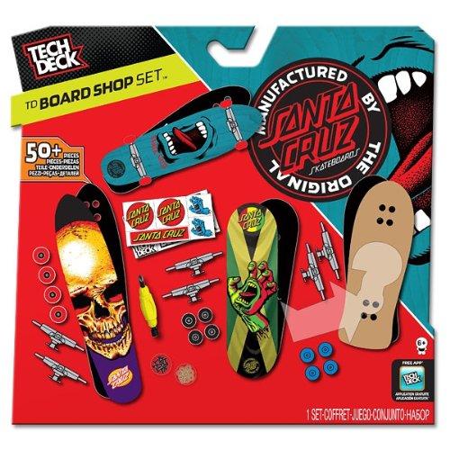 Santa cruz tech deck board shop mm fingerboard boards