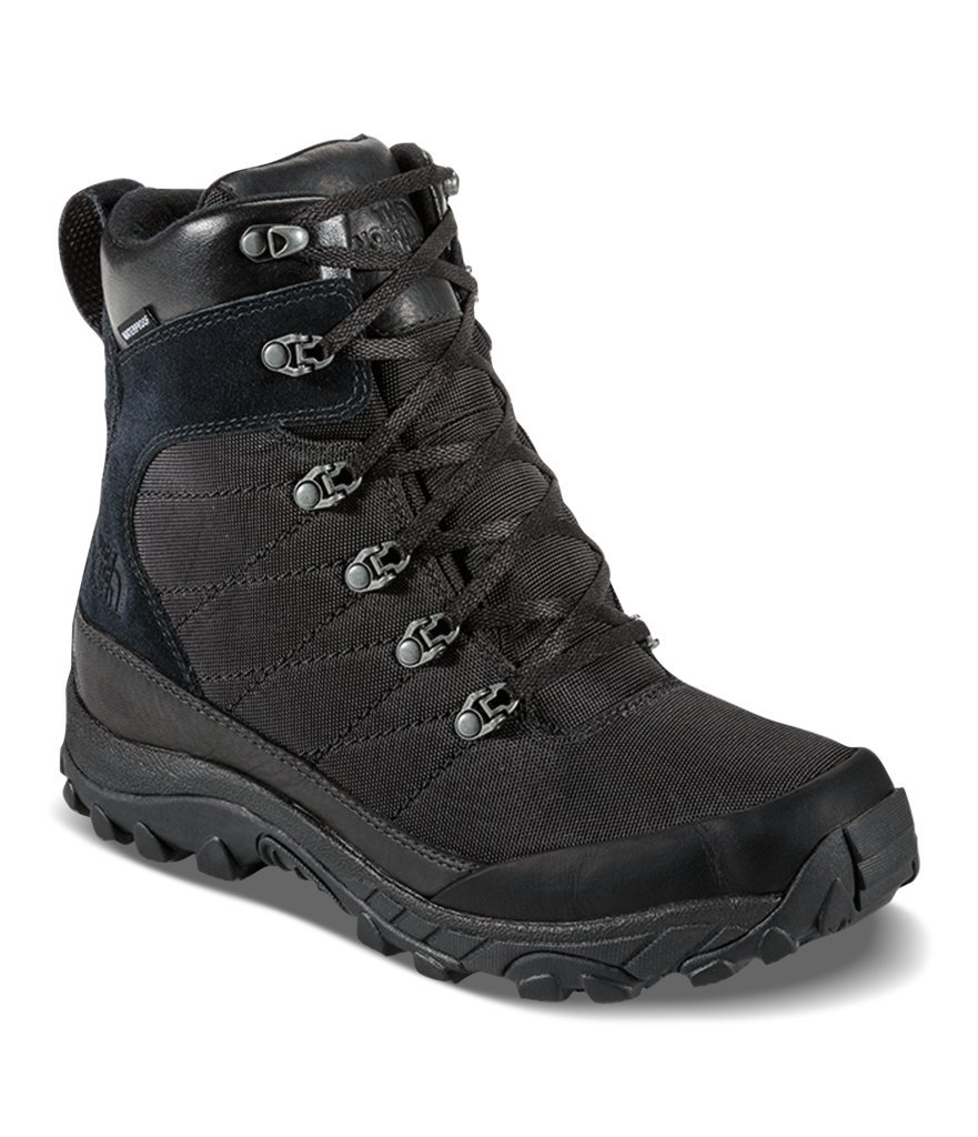The North Face Mens Chilkat Nylon Boot - TNF Black/TNF Black - 11.5