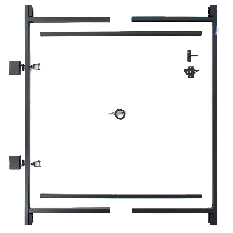 Adjust-A-Gate Steel Frame Gate Building Kit 36-60 wide openings, 5-6 high fence