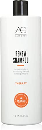 AG Hair Cosmetics ReNew Clarifying Shampoo for Unisex, 1L