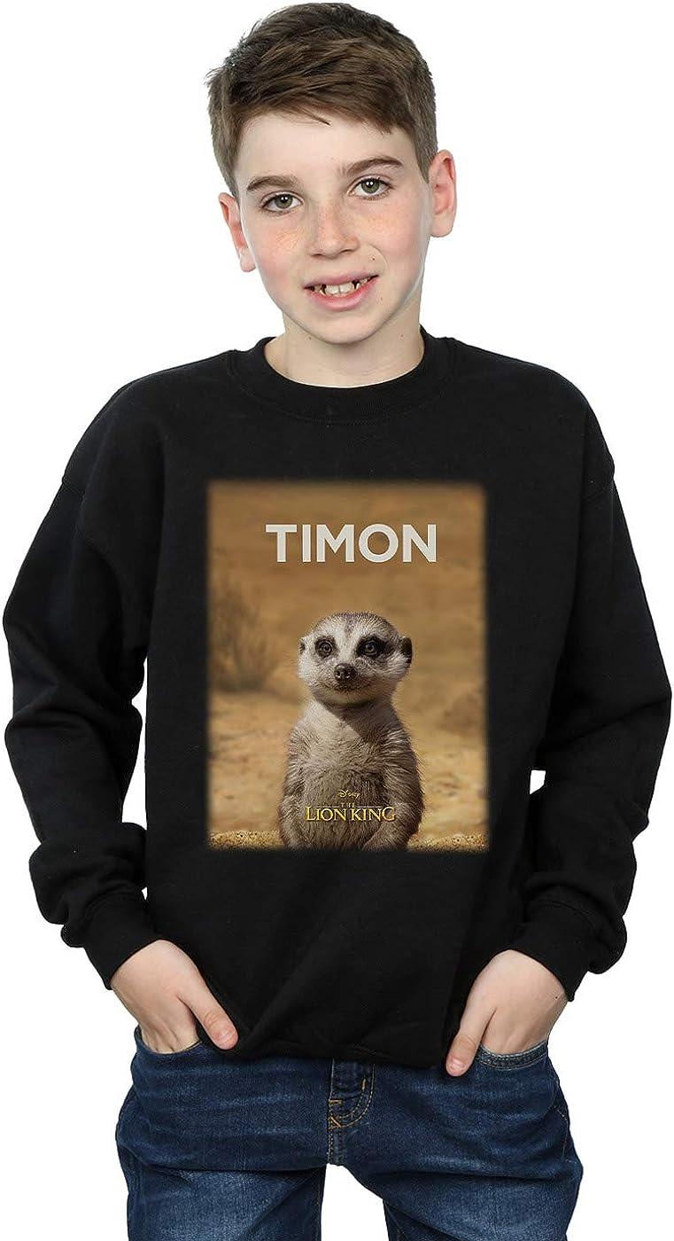 Disney Boys The Lion King Movie Timon Poster Sweatshirt