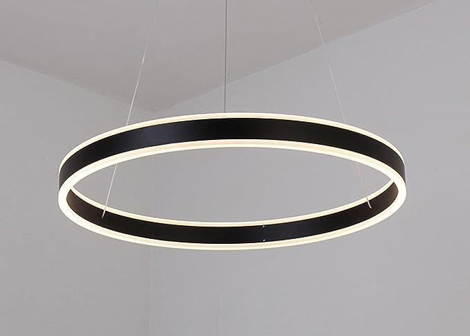30 W LED redonda de techo lámpara diseño moderno anillo ...