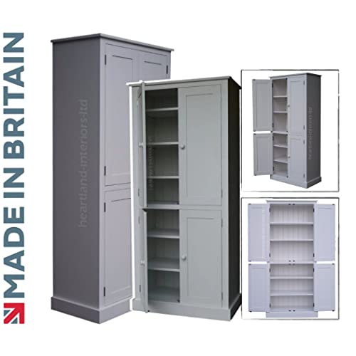 Kitchen Pantry Amazon: Tall Larder Unit: Amazon.co.uk