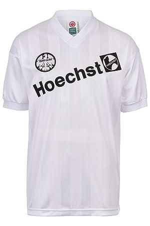 Camiseta de fútbol retro, Eintracht Frankfurt 1988, segunda equipación: Amazon.es: Deportes y aire libre
