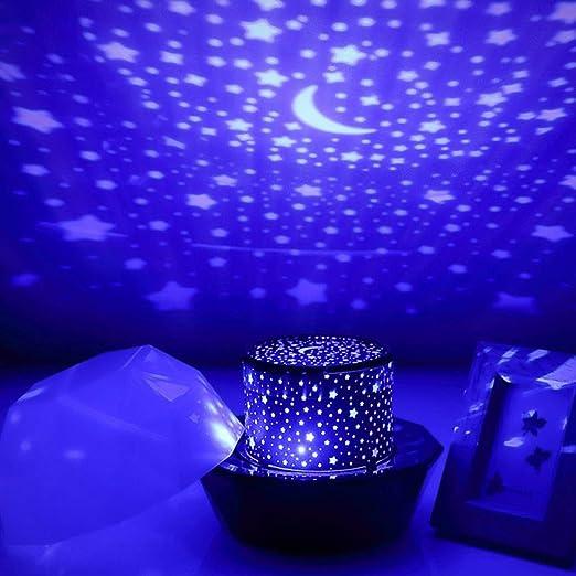 La lámpara del proyector del Cielo llevó la luz de la Noche for ...